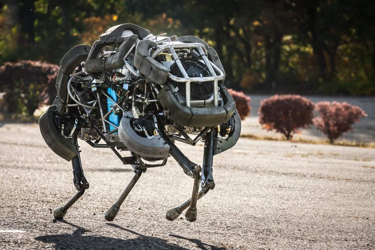 Boston Dynamics WildCat – Boston Dynamics