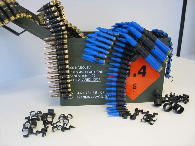 2-Plastic blank ammo