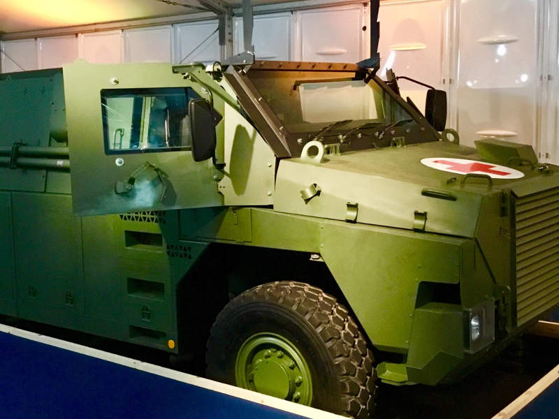 Bushmaster MR6 is being built by Thales Australia. Credit: Thales Group.