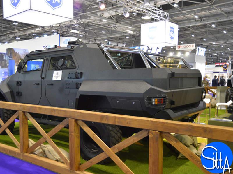 Gepard ASV has a maximum payload capacity of 1.5t. Image: courtesy of Ministère des Armées.