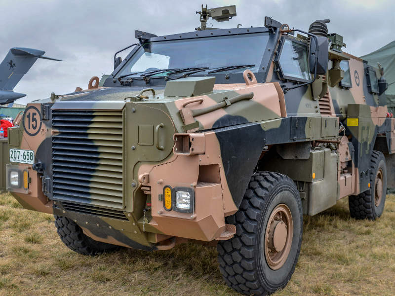 Bushmaster infantry mobility vehicle is the basis for Bushmaster MR6. Credit: Hpeterswald.