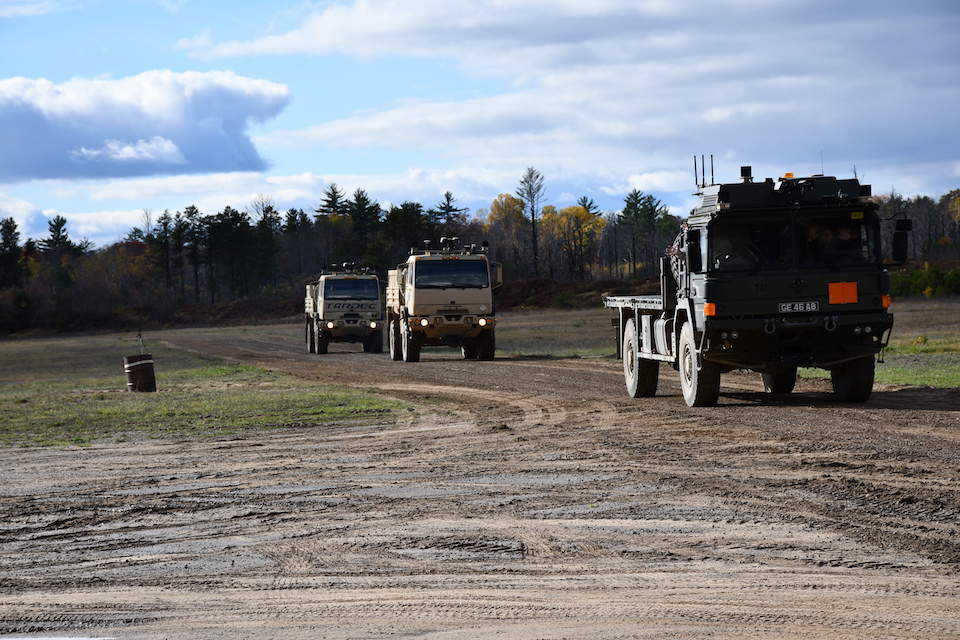Driverless vehicles in the military - will the potential be