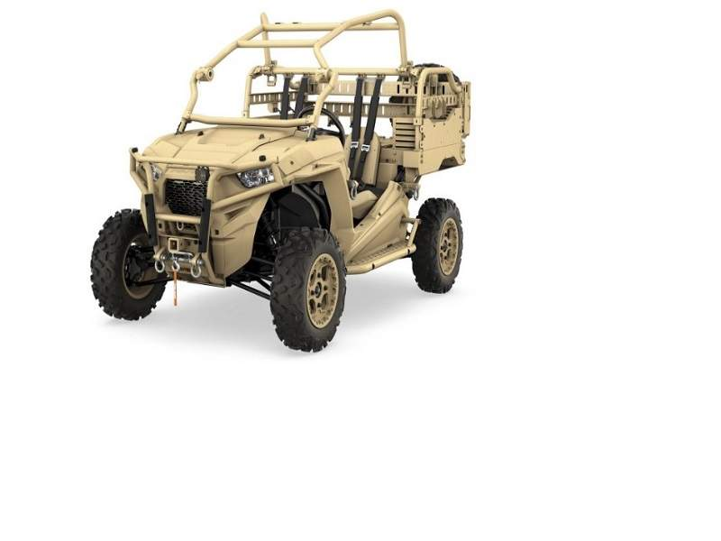 MRZR-D2 is the latest variant in the range of MRZR diesel-powered vehicles offered by Polaris Government & Defense. Image courtesy of Polaris Industries, Inc.