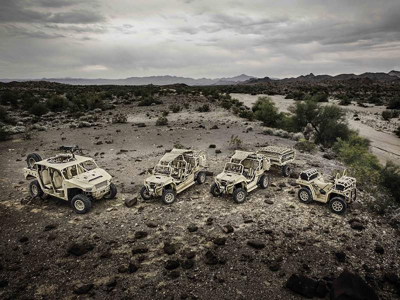 The Polaris MRZR all-terrain vehicle range includes MRZR 2, MRZR-D2, MRZR 4 and MRZR-D4 models. Image courtesy of Polaris Industries, Inc.