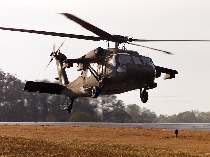 The UH-60M Black Hawk is equipped with two GE T700-GE-701D engines. Image courtesy of Sikorsky.
