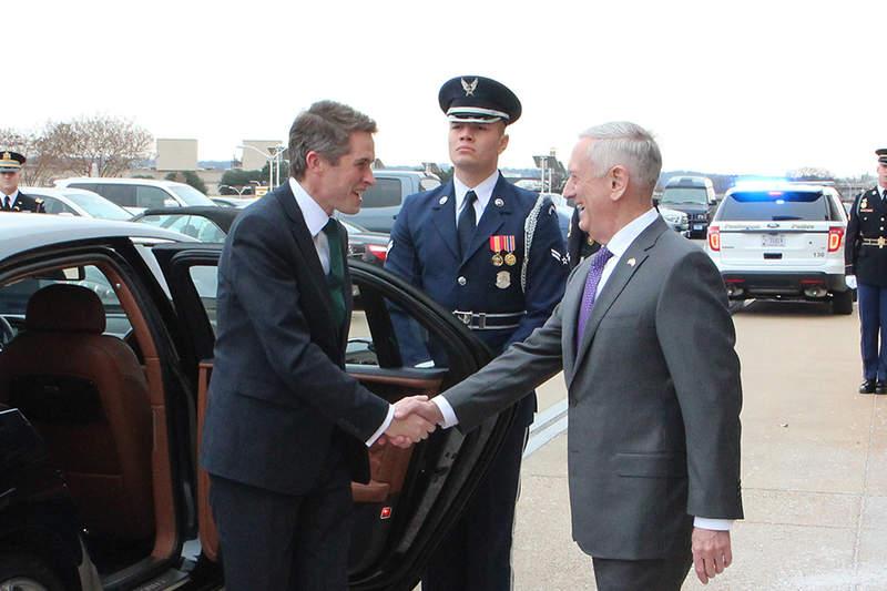 Former US Secretary of Defence James Mattis joins General