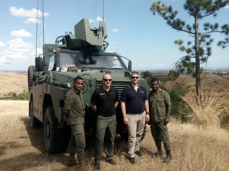 Overhauling radio communications systems for the Fijian Army