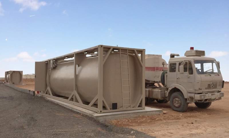 Large Capacity Military Infrastructure Fuel and Water Systems - Army  Technology