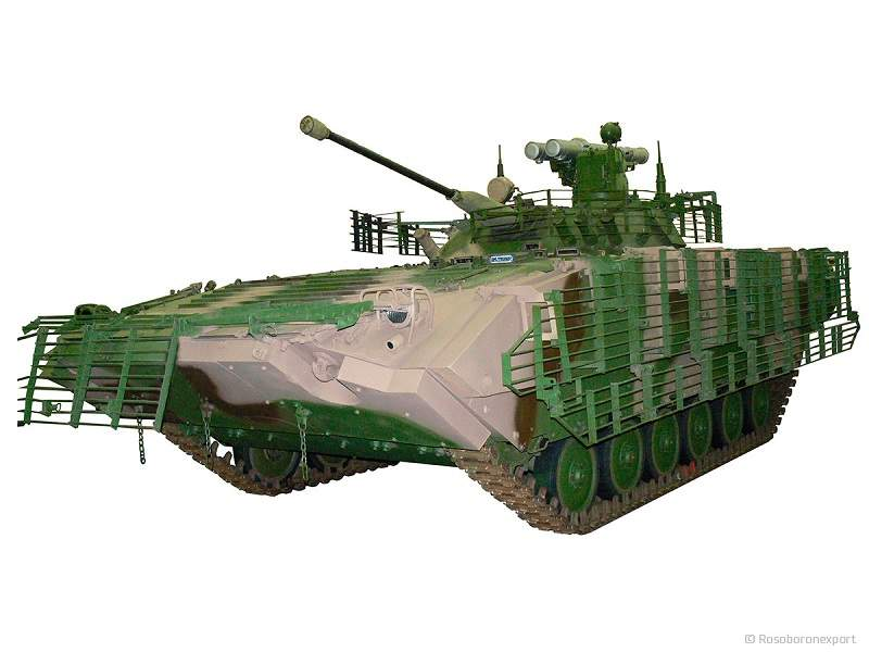 BMP-2M is an upgraded version of the BMP-2 infantry fighting vehicle developed by Kurganmashzavod JSC. Image courtesy of www.roe.ru.