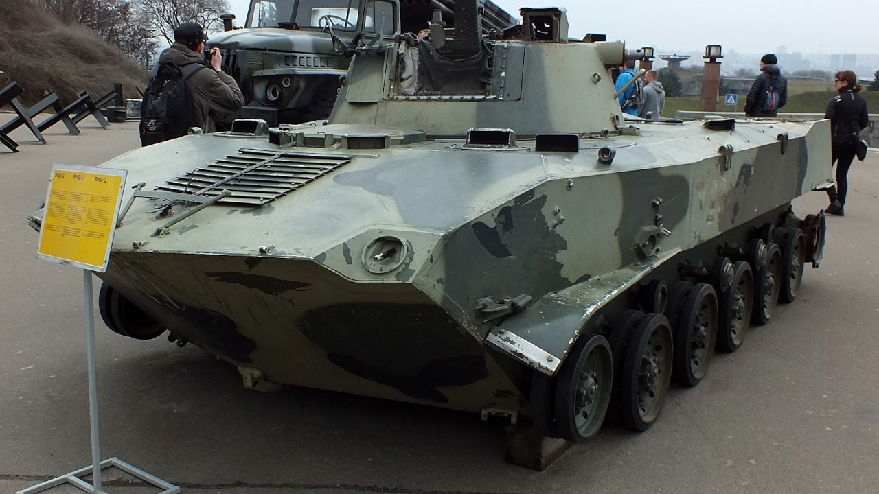 Image 3-BMP-2M Infantry Fighting Vehicle