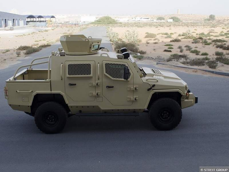 The vehicle can be used for reconnaissance and escort missions. Image courtesy of Streit Group.