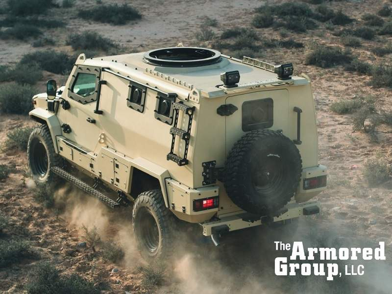 The combat weight of the Terrier LT-79 armoured vehicle is 6,100kg. Image: courtesy of The Armored Group (TAG).