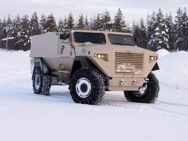 Sisu Group unveiled the Sisu GTP 4x4 armoured vehicle in April 2018. Image courtesy of Sisu Defence.