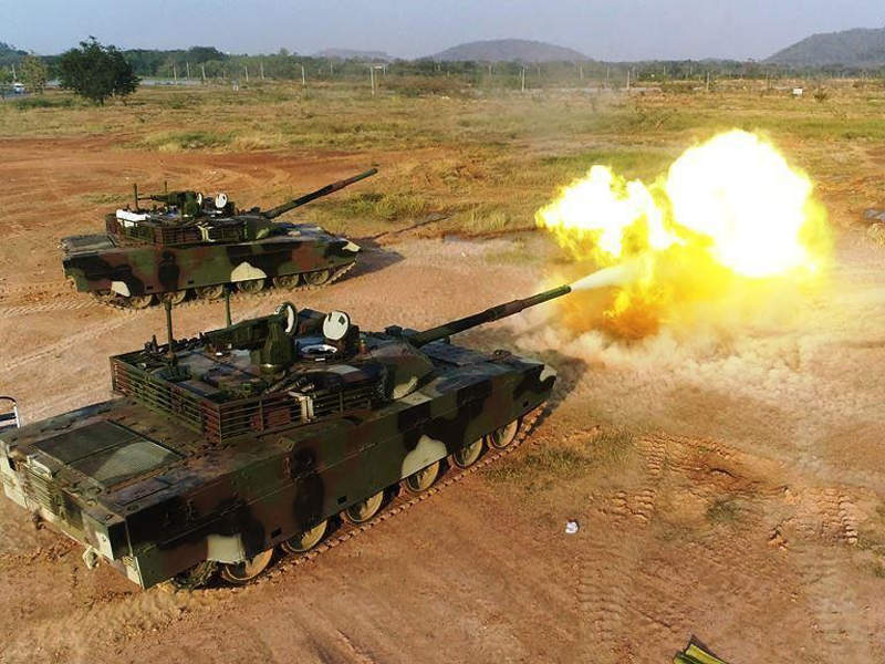 The VT4 main battle tank was developed by Norinco. Image: courtesy of China North Industries Corporation.