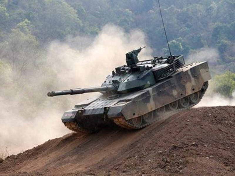 The VT4 main battle tank has a maximum road speed of 70km/h. Image: courtesy of IC.