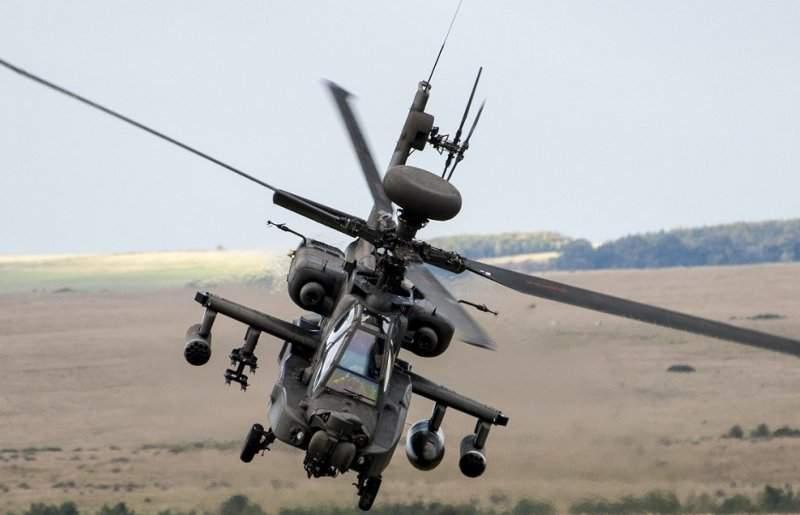 Apache AH-64E helicopter