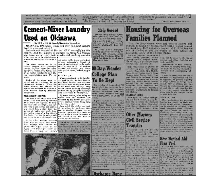 Chevron article 1946