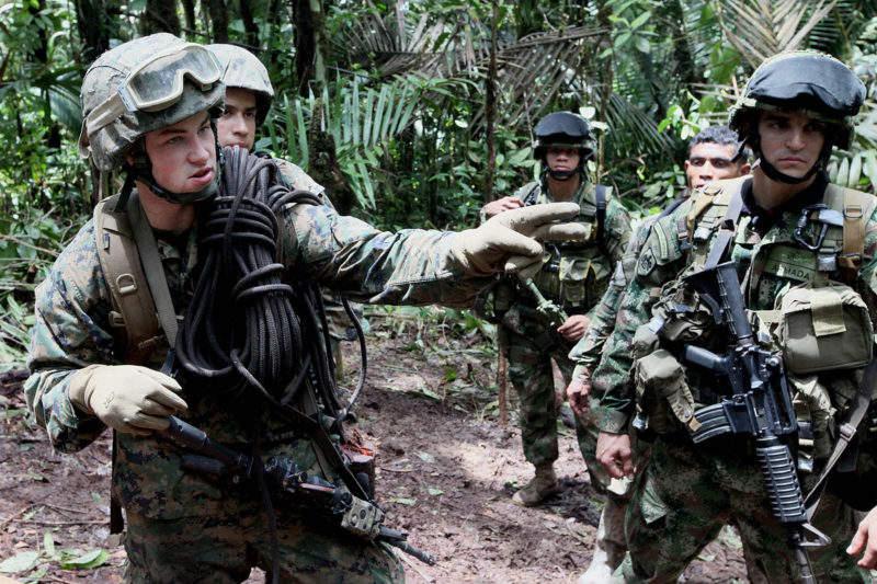 US jungle warfare