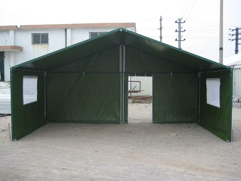 Movable Military Tent