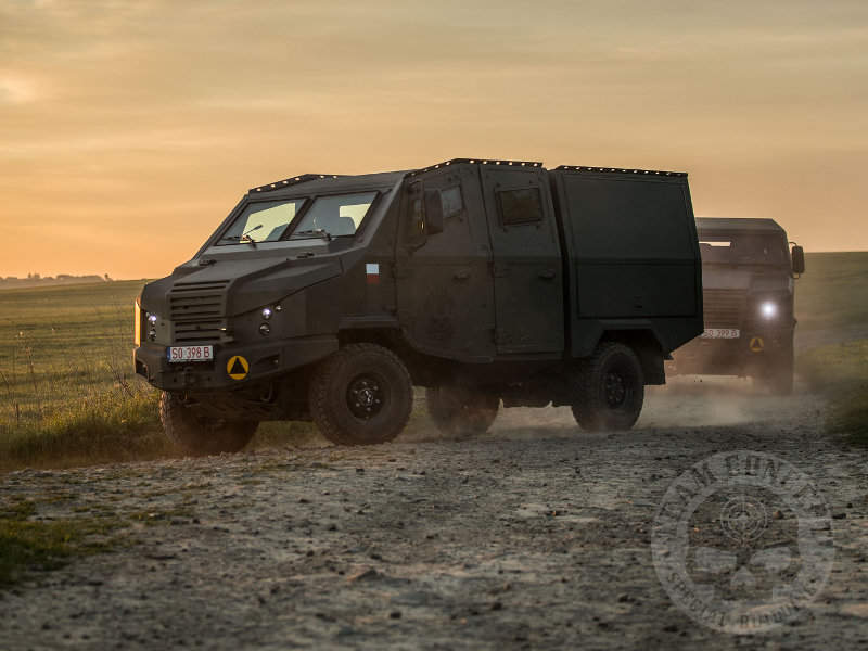 The Dino 519 light tactical multi-purpose armoured vehicle (LTMPAV) was launched by Team Concept at Eurosatory 2018. Image courtesy of Team Concept.