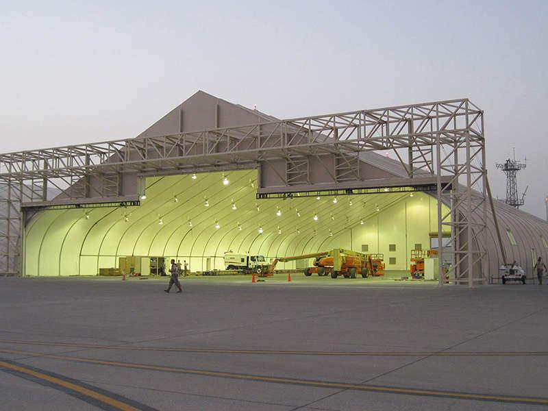 hangar tent structure