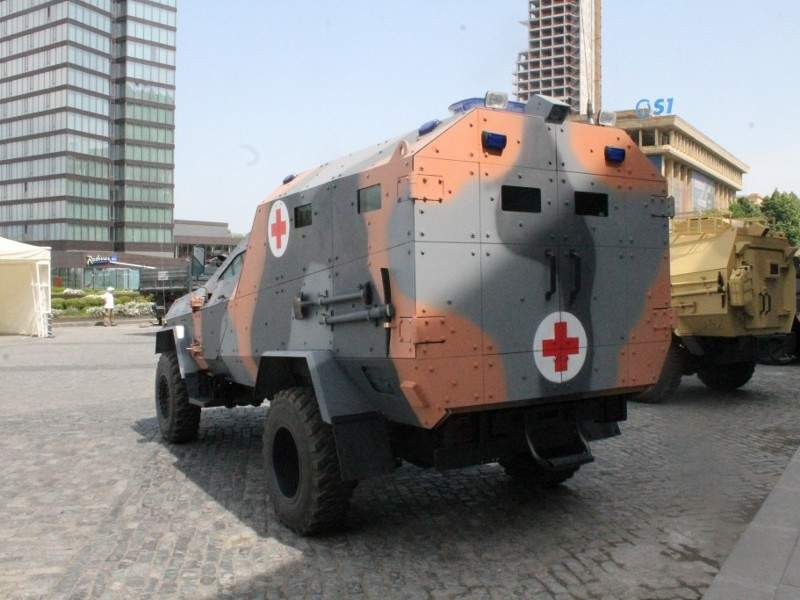 Didgori AMEV is developed by Georgia's State Military Scientific-Technical Center Delta. Image courtesy of Delta International - company of scientific technical centre Delta.
