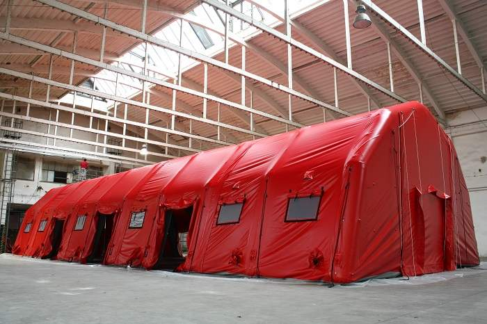 Modular large capacity hall