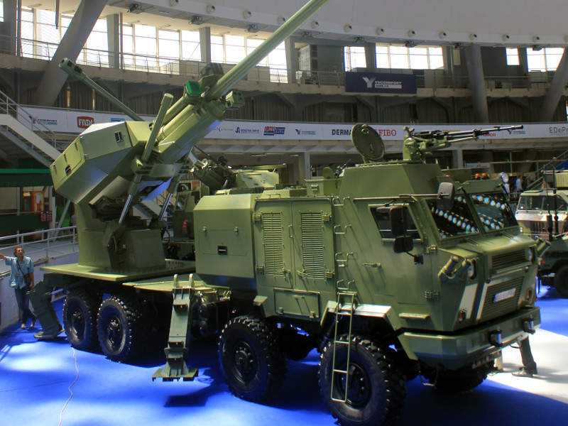 Aleksandar Self-Propelled Artillery System