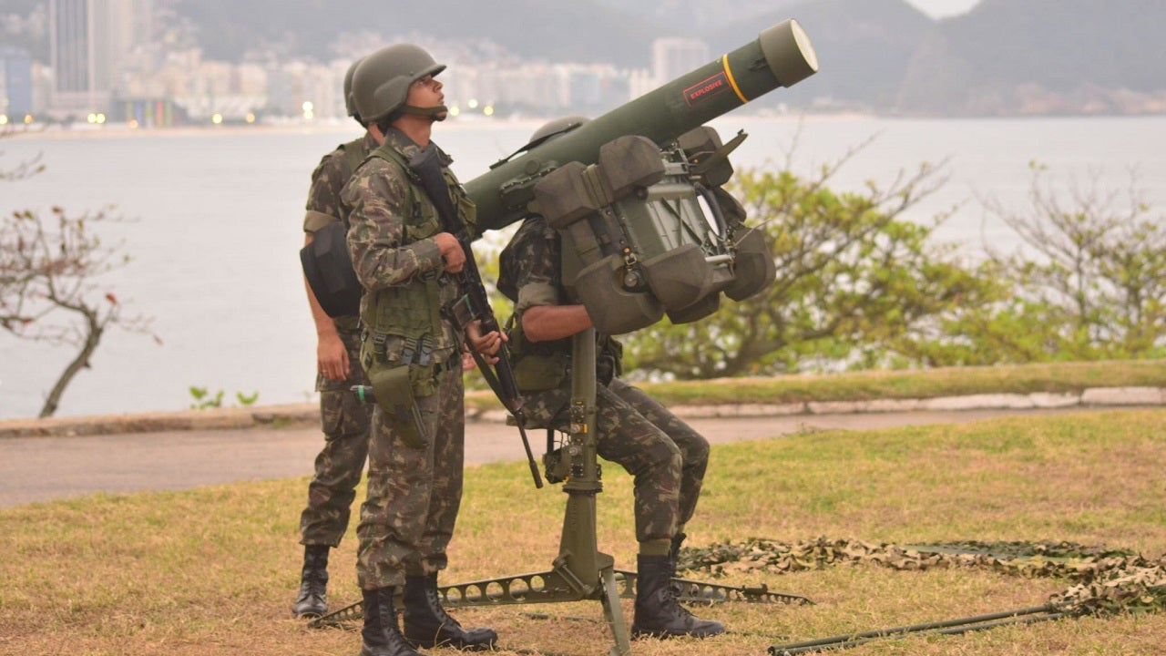 Image 1-RBS 70 Short-Range Anti-Aircraft Missile