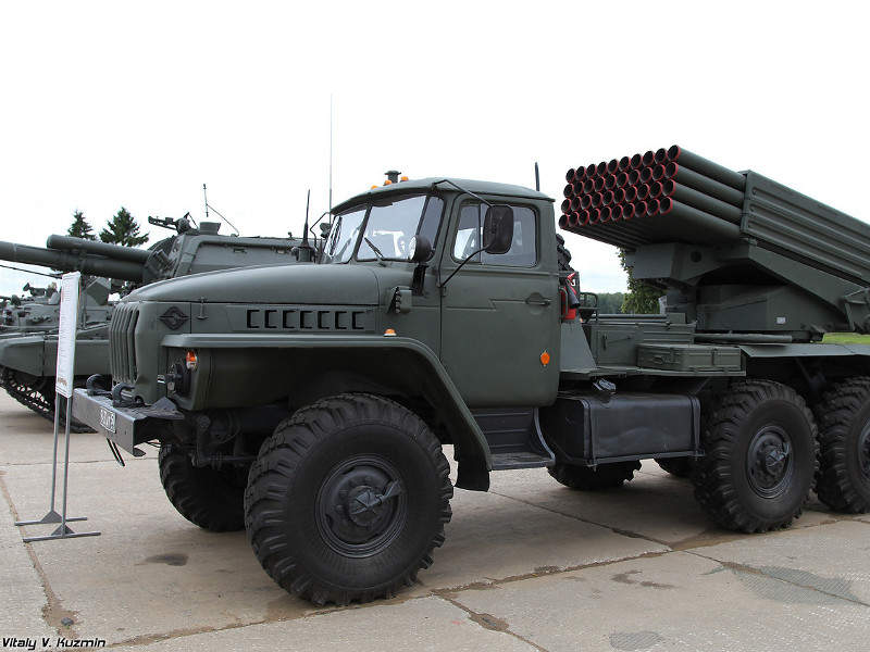 Tornado-G Multiple Launch Rocket System (MLRS)