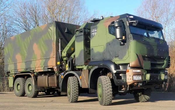 Trakker Truck Germany Army 2 Army Technology