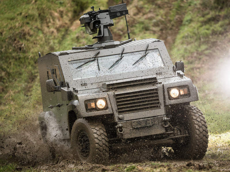 The Dagger 4x4 light armoured vehicle was developed by Arquus Defense. Credit: Arquus.