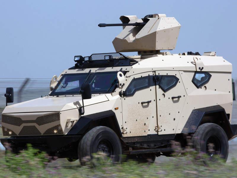 SandCat M-LPV provides STANAG 4569 Level II protection. Image courtesy of Plasan.