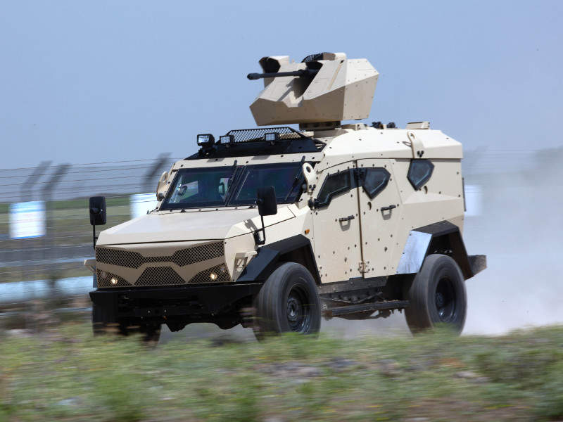 SandCat M-LPV is designed to perform law enforcement, border patrol, special forces combat, and armed conflict missions. Image courtesy of Plasan.