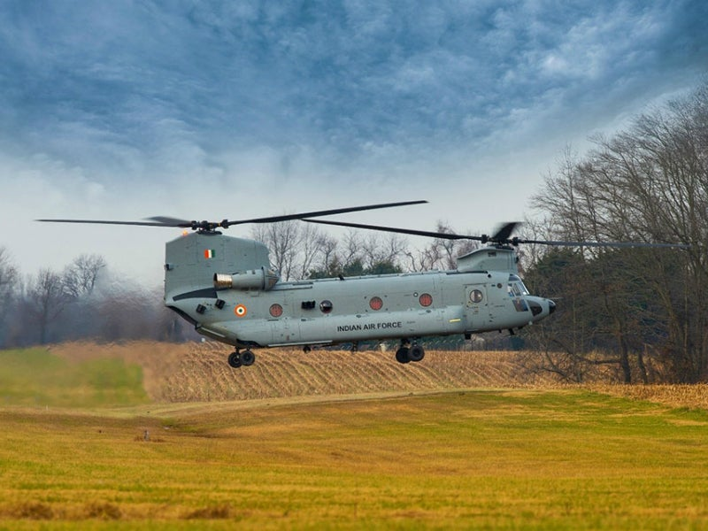 Chinook helicopter is used to pick up US troops in Afghanistan. Credit: Boeing.
