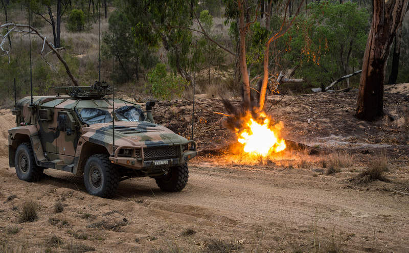 Australian Army land trial exercise