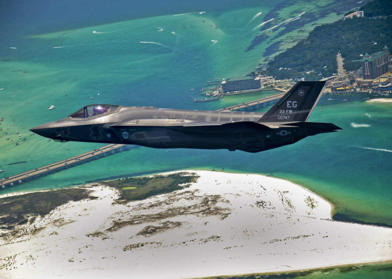 First_F-35_headed_for_USAF_service – no credit required