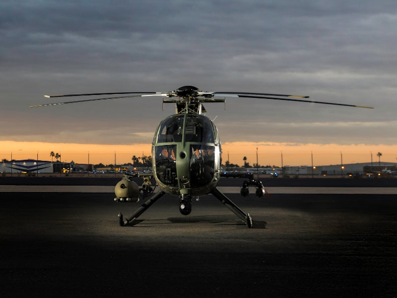 Image 1-MD 530G Scout Attack Helicopter