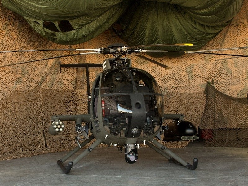 Image 3-MD 530G Scout Attack Helicopter