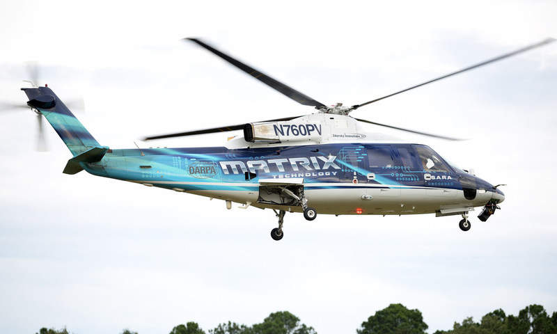 optionally piloted helicopter