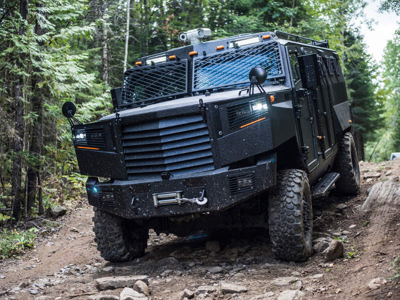 INKAS launched the Superior APC in October 2018. Image courtesy of INKAS Armored Vehicle Manufacturing.