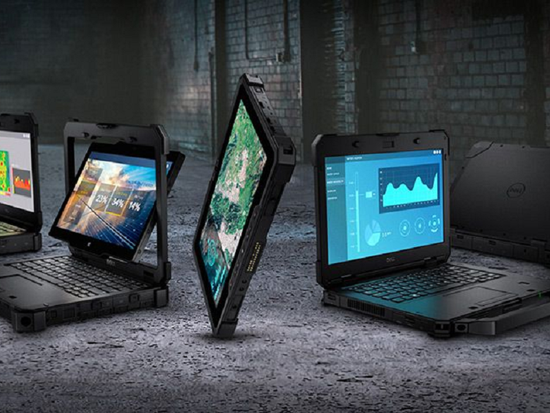 Dell rugged laptop range