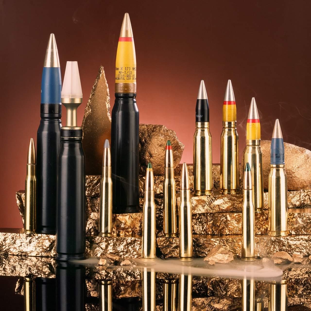 amunicja średniokalibrowa 12,7;20;30mm