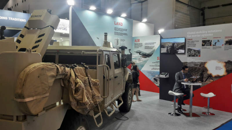 eEXPAL AT INDO DEFENCE 2018