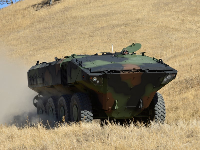 Amphibious Combat Vehicle 1.1 was developed by BAE Systems for the US Marine Corps. Image courtesy of BAE Systems.
