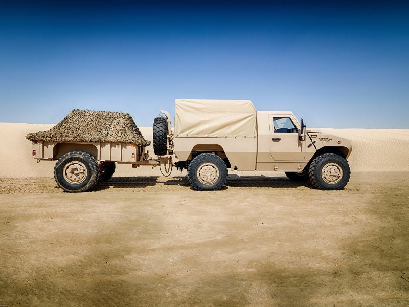 The length of the 4x4 vehicle is 5.7m. Image courtesy of NIMR Automotive.