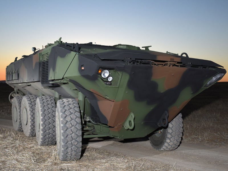 The first prototype of the amphibious vehicle was delivered to the US Marine Corps in December 2016. Image courtesy of BAE Systems.