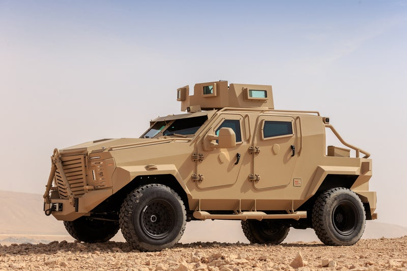 Tactical military vehicle