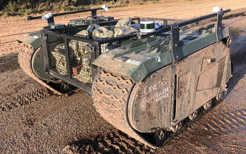 TITAN: the robot autonomously supplying the front line