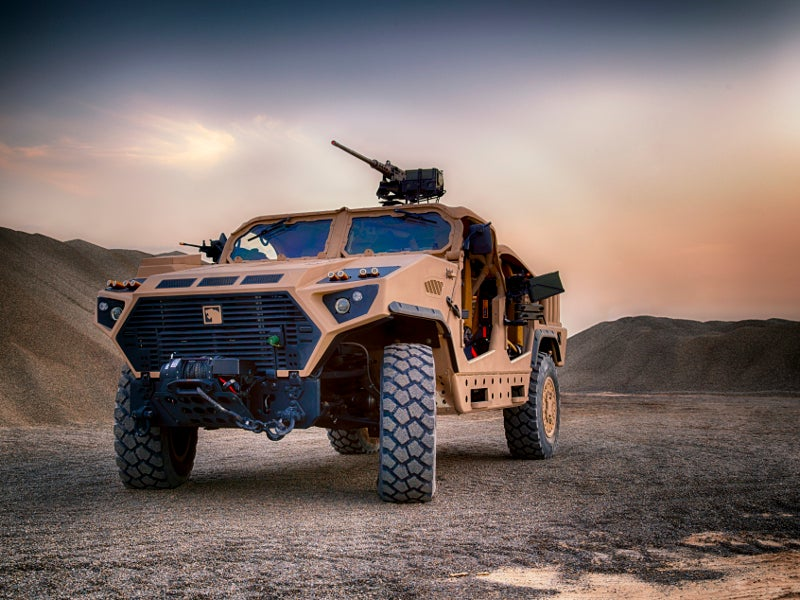 AJBAN Long-Range Special Operations Vehicle